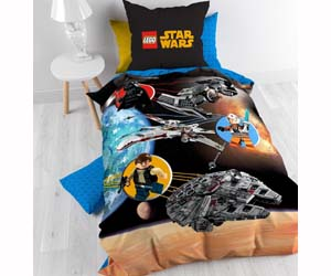 Funda Nordica Lego Star Wars.Funda Nordica Funda Almohada Lego Star Wars 140x200