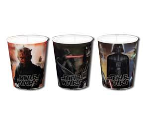 Juego de Vasos de Star Wars 3D