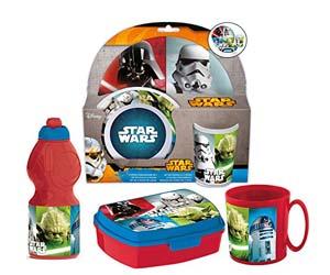 Pack básico de menaje, diseño Star Wars
