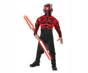Disfraz Darth Maul Star Wars niños
