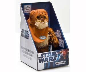 Peluche Ewok Star Wars 23 cm